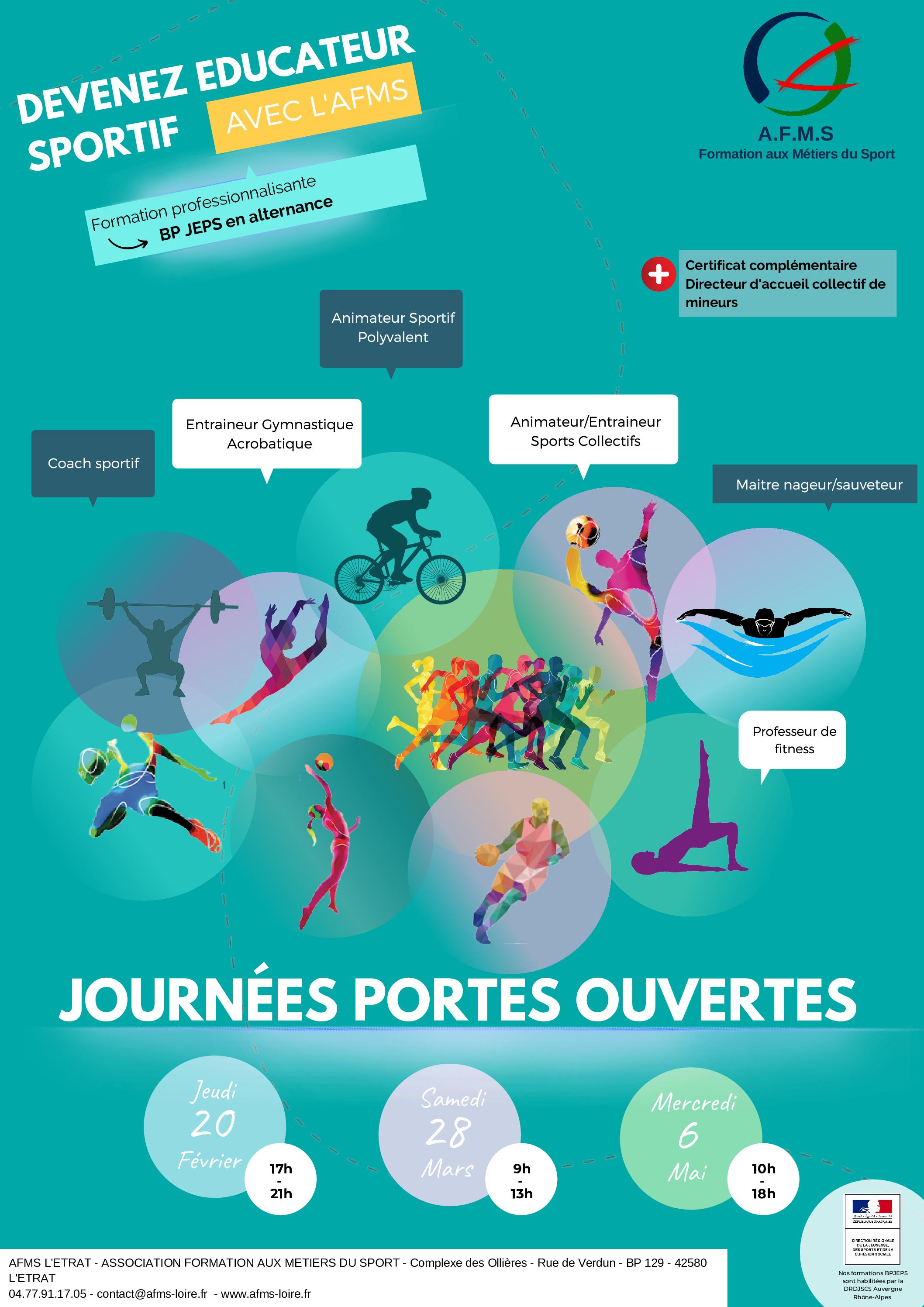 JOURNEES PORTES OUVERTES 2020 !!